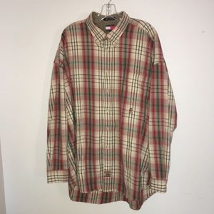 Tommy Hilfiger Ranger Plaid Button Down Shirt